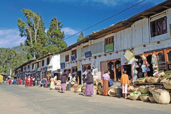 Markt in Bhutan