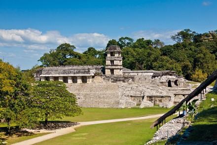 Stätte in Palenque