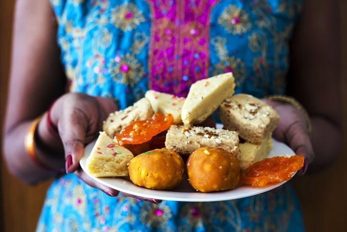 Diwali Süssigkeiten