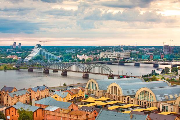 Jugendstil-Stadt Riga