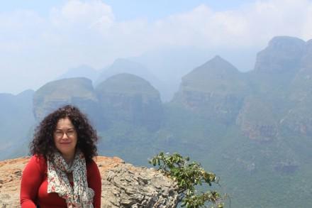 Gloria Talavera in Südafrika