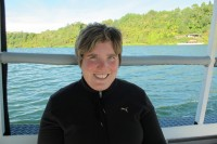 Sonja Frei im Hidden Valley, Neuseeland