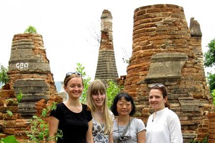 Diese Wettstein-Teammitglieder waren in Myanmar.