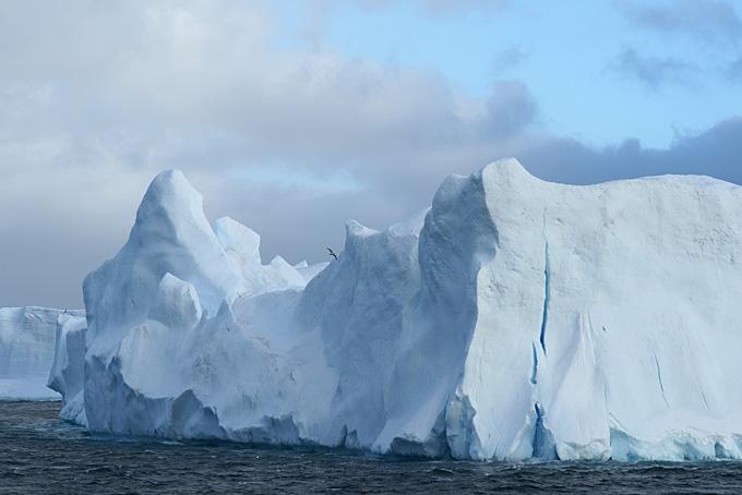 Iceberg au sud des îles Sandwich