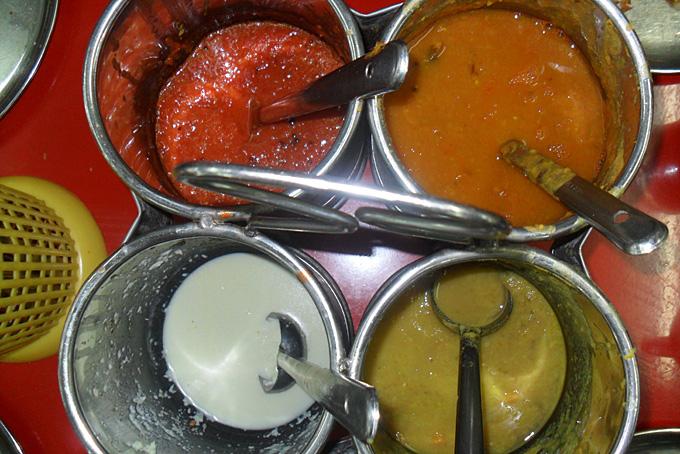 Indische Saucen/Gewürze