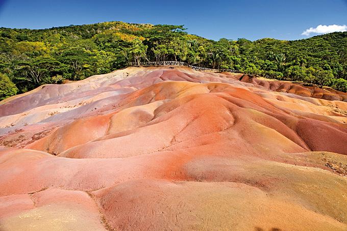 Siebenfarbige Erde von Chamarel