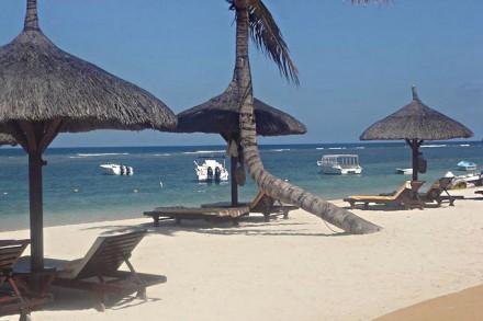 Strand vom Hotel The Oberoi Mauritius******