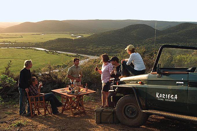 Sundowner - Getränke und Fingerfood mitten im Naturreservat