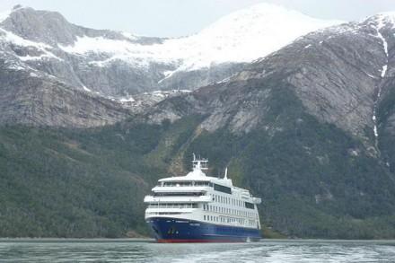 Le bateau d'expédition «Stella Australis»