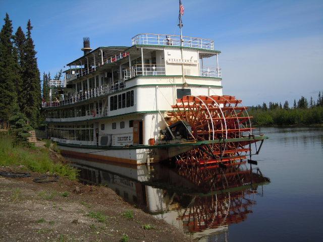 Spannende Rivercruise auf dem Chena River