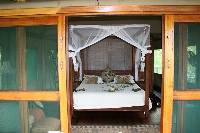 Romantisches Camp Xigera