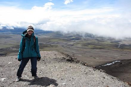 Sandrine Seiler en Équateur