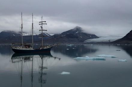 SV «Antigua» im St. Jonsfjorden