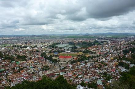Die Hauptstadt Antananarivo