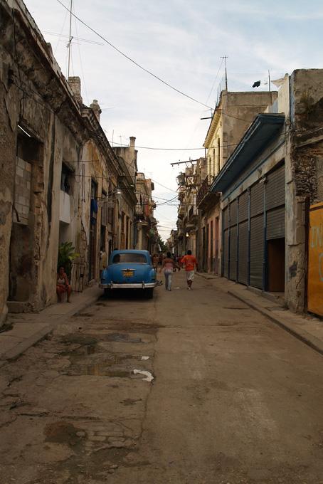 Seitenstrasse in der Altstadt von Havanna