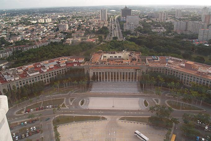 Aussicht von einem Turm über Havanna