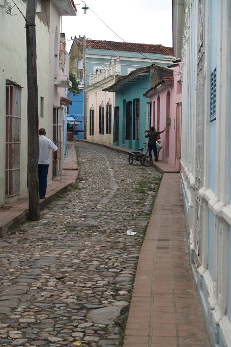 Strasse in Trinidad