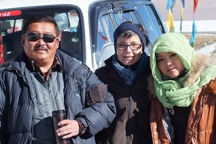Notre équipe au Tibet