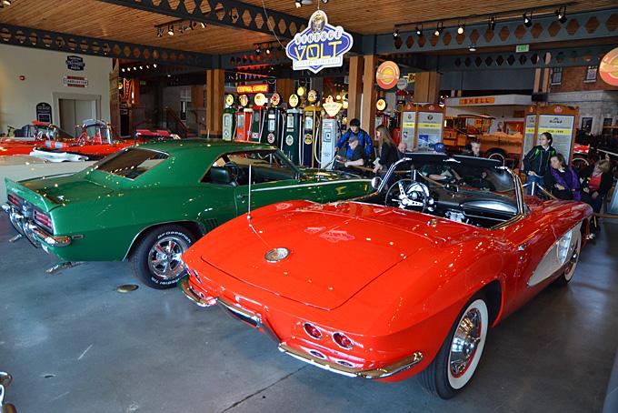 …und dem Gasoline Alley Museum…