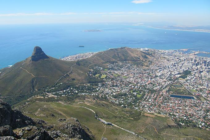 Aussicht vom Table Mountain