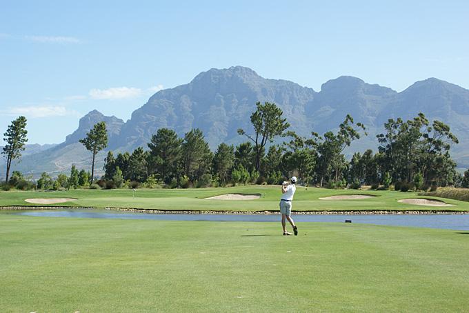 Pearl Valley Golf Estate Loch 17