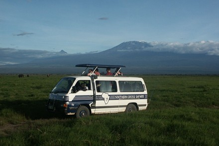 Unterwegs im Amboseli Nationalpark