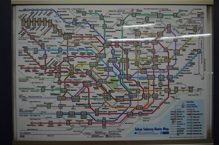 U-Bahnnetz Tokios: Wie soll man sich in Japan auch zurechtfinden?!