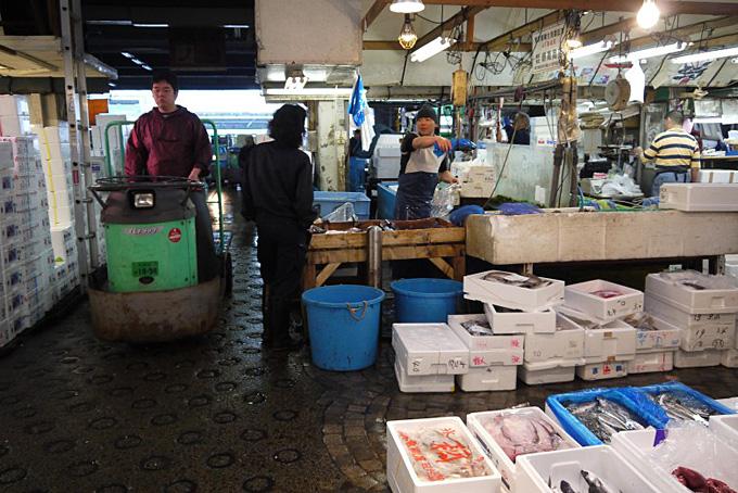 Tsukiji - der grösste Fischmarkt der Welt