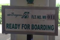 Ready for boarding