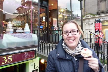 Ich und mein Fairy Cake in Edinburgh