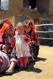 Schüchternes Mädchen, Valle Sagrado, Peru