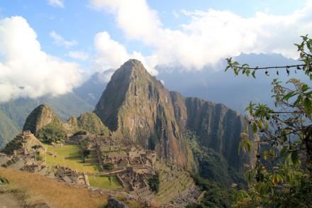 Blick auf Machu Picchu, Peru