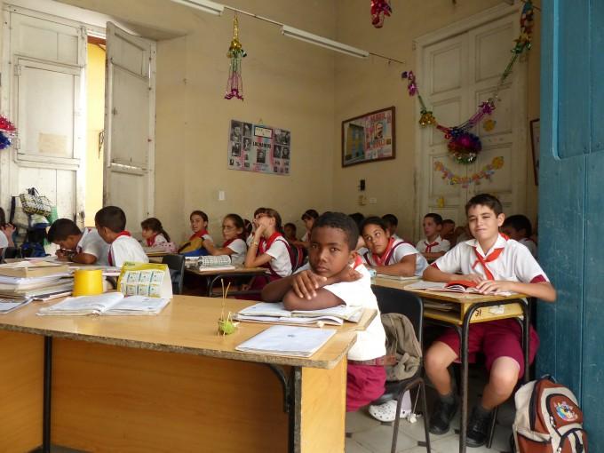 Schule in Sancti Spiritus