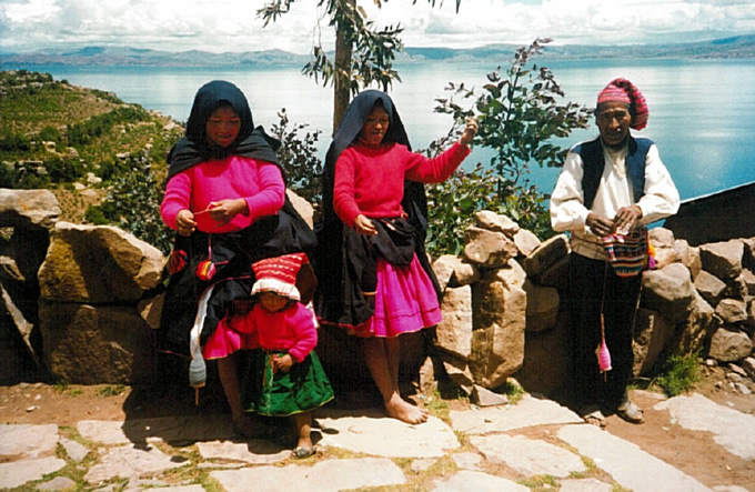 Ile de Taquilé sur le lac Titicaca