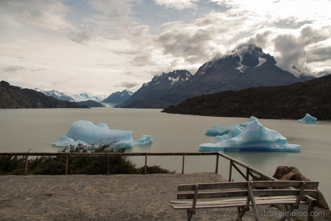 Eisberge Lake Grey, Torres del Paine Nationalpark