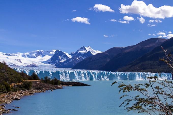 Perito Moreno Gletscher von den «Balconys» aus gesehen