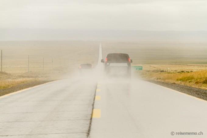 «Ruta fin del mundo» in Patagonien