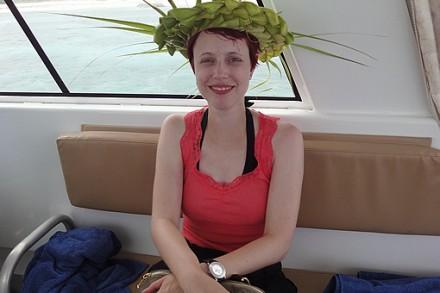 Auch einen Hut flechten kann man lernen...