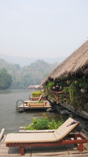 River Kwai Jungle Rafts Floatel