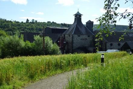 Wir genossen die wunderschöne Landschaft in Craigellachie – Inverness