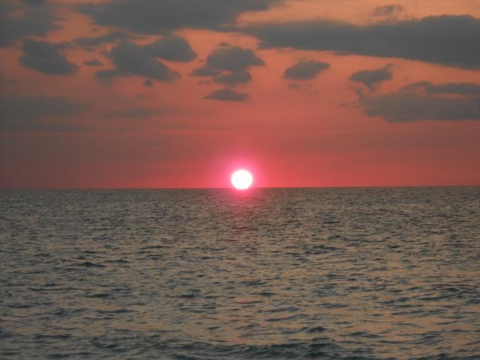 Bezaubernder Sonnenuntergang