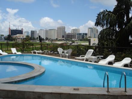 Pool im Hotel Kubitschek Plaza