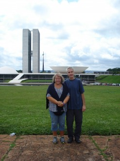 Maya Metzger in Brasilia