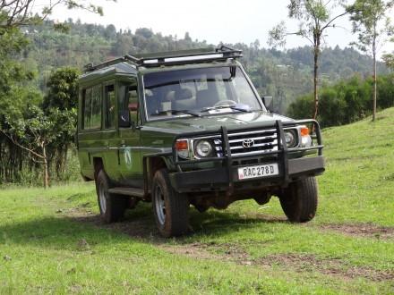 Tolles 4x4-Geländefahrzeug, das uns keine Probleme bescherte