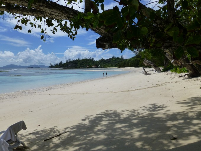 Strand beim Bungalow