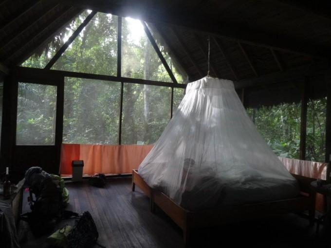 Notre chambre dans la réserve de Serere