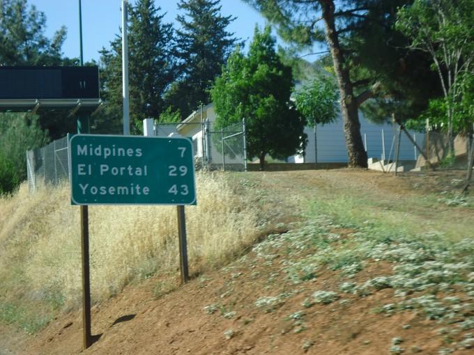 Unsere nächsten Ziele: El Portal und Yosemite