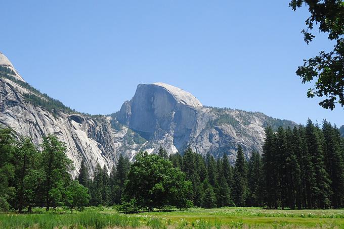 Felsmassiv im Yosemite Nationalpark