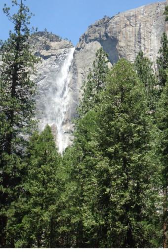 Wasserfälle im Yosemite NP