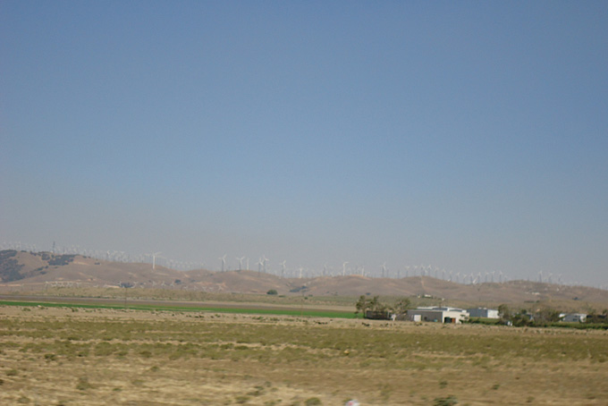 Südlich des Death Valleys gegen Süden
